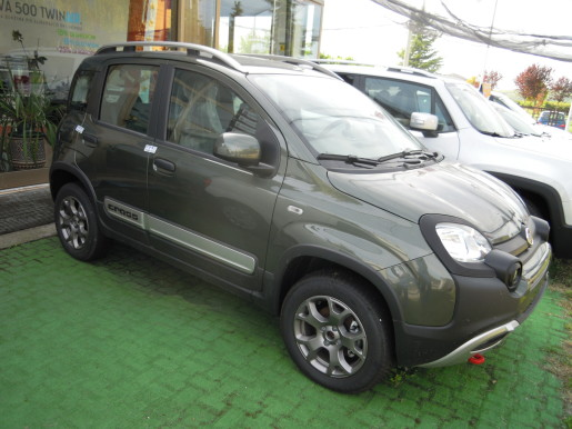 FIAT PANDA 4X4 CROSS 1.3 MJT € 17500