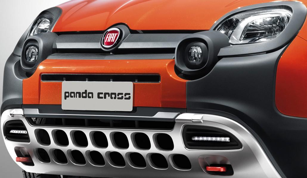Nuova Fiat Panda Cross Prime Immagini 3